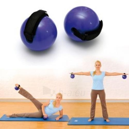 SISSEL Fitness pasunkinti kamuoliukai su dirželiu 500 g Paveikslėlis 1 iš 1 250620200042
