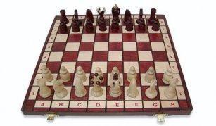 Šachmatai KOMPAKT King's 44 Paveikslėlis 1 iš 1 251010000050