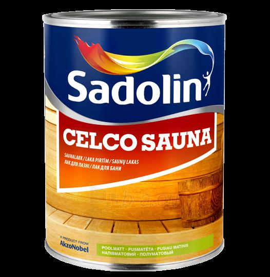 Saunu lakas CELCO SAUNA 20 pusiau matinis 2,5 ltr. Paveikslėlis 1 iš 1 236590000172