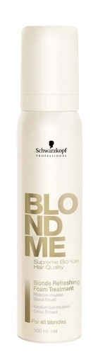 Schwarzkopf Blond Me Blonde Refreshing Foam Treatment Cosmetic 100ml Paveikslėlis 1 iš 1 250832500045