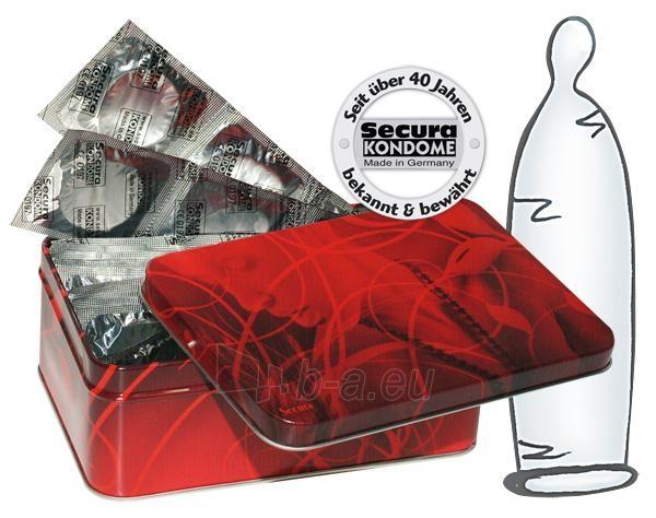 Secura Prezervatyvų rinkinys dailioje dėžutėje 50 vnt. Paveikslėlis 1 iš 1 2514135000022
