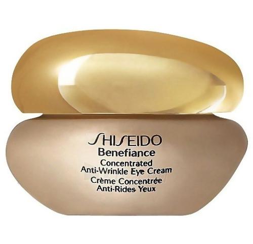 Shiseido BENEFIANCE Concentrated Anti-Wrinkle Eye Cream Cosmetic 15ml (testeris) Paveikslėlis 1 iš 1 250840800302