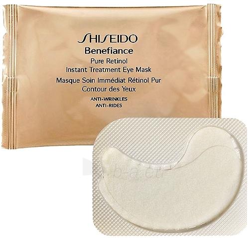 Shiseido BENEFIANCE Pure Retinol Instant Treatment Eye Mask Cosmetic 12.10.2002 Paveikslėlis 1 iš 1 250840800195