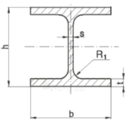 H-beam HEA 160/1200 S235JRG2 Paveikslėlis 1 iš 1 210350000038