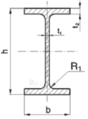 H-beam IPE 240/12000 S275JR Paveikslėlis 1 iš 1 210350000199