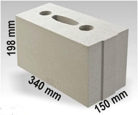 Silikatiniai blokai ARKO M15 340x150x198 Paveikslėlis 1 iš 1 237623000001