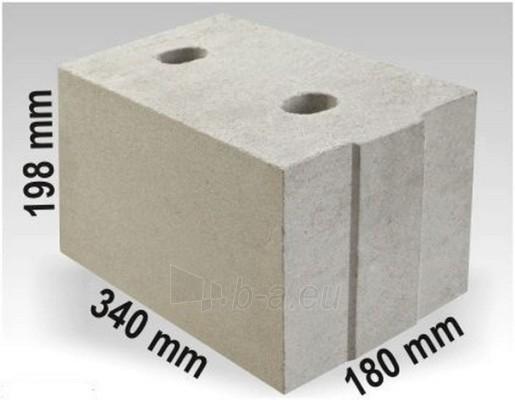 Silikatiniai blokai ARKO M18 340x180x198 Paveikslėlis 1 iš 2 237623000002