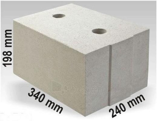 Silikatiniai blokai ARKO M24 340x240x198 Paveikslėlis 1 iš 1 237623000003
