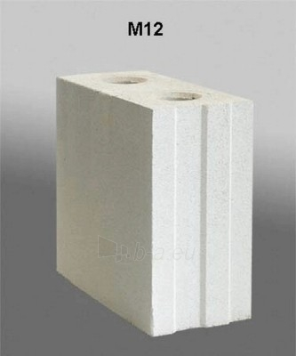 Silikāta bloki 'SILIBLOKAS' M12 Paveikslėlis 1 iš 1 237623000006
