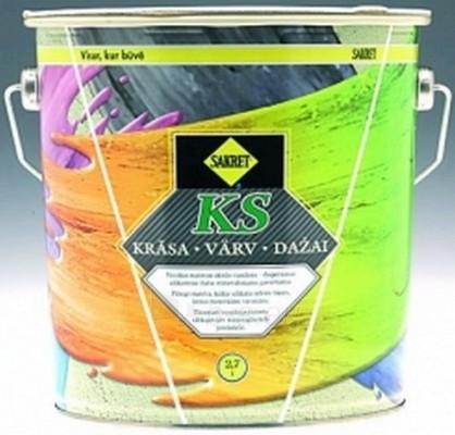 Silikatiniai dažai KS Fullmat paint 9 ltr. Paveikslėlis 1 iš 1 236510000335