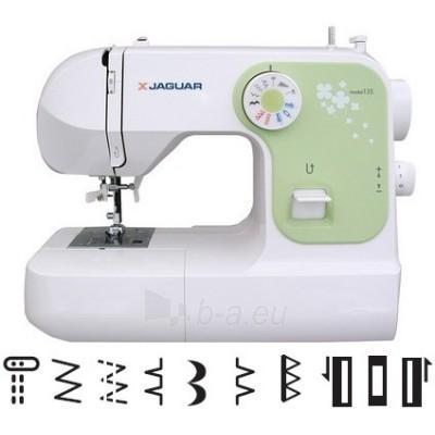 Siuvimo mašina JAGUAR 135 Paveikslėlis 1 iš 1 250110100141