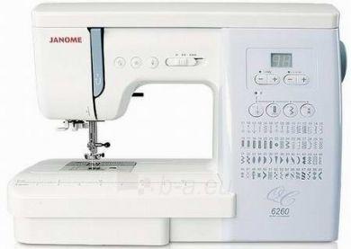 Siuvimo mašina JANOME 6260 QC Paveikslėlis 1 iš 1 250110100098