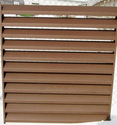 Skardinės tvoros segmentas 14x1500x2500 LX dvipusio dažymo Paveikslėlis 2 iš 7 239314000009