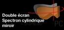 Slidinėjimo akiniai COLUMBUS, žydra/balta Paveikslėlis 2 iš 2 250520802044
