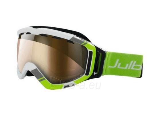 Slidinėjimo akiniai ORBITER, balta/žalia Paveikslėlis 1 iš 2 250520802005