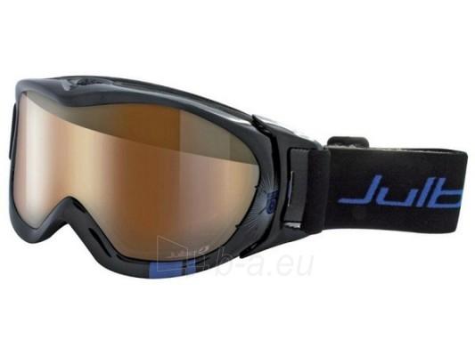 Slidinėjimo akiniai REVOLUTION, juoda/mėlyna Paveikslėlis 1 iš 2 250520802014