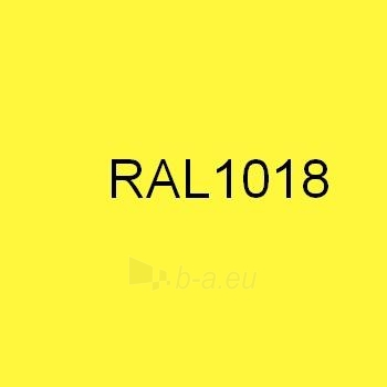 Colored tin (Polyester) RAL1018 yellow Paveikslėlis 1 iš 1 210260000014
