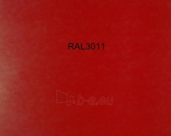 Colored tin (Polyester) RAL3011 red Paveikslėlis 1 iš 1 210260000002
