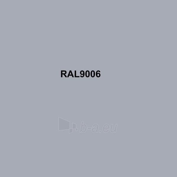 Spalvota skarda (poliesteris) RAL9006 sidabrinė Paveikslėlis 1 iš 1 210260000007