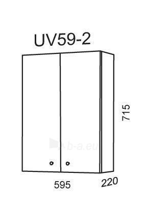 Spintelė Riva57 UV59-2 (pakabinama) Paveikslėlis 2 iš 2 250401000109