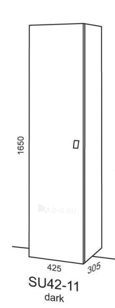 Spintelė Riva64 SU42-11 dark Paveikslėlis 2 iš 2 250401000088
