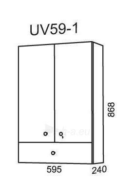 Cabinet Riva75 UV59-1 (hang-up) Paveikslėlis 2 iš 2 250401000121