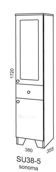 Spintelė Riva80 SU38-5 sonoma (pastatoma) Paveikslėlis 2 iš 2 250401000101