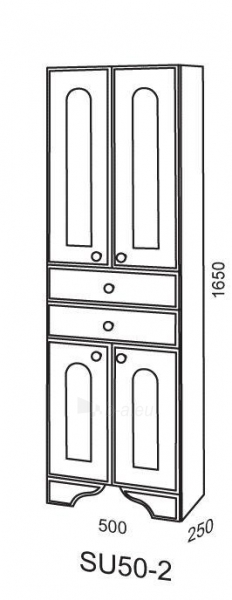 Cabinet Riva80 SU50-2 Paveikslėlis 2 iš 2 250401000126
