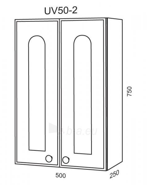 Spintelė Riva80 UV50-2 (viršutinė) Paveikslėlis 2 iš 2 250401000129