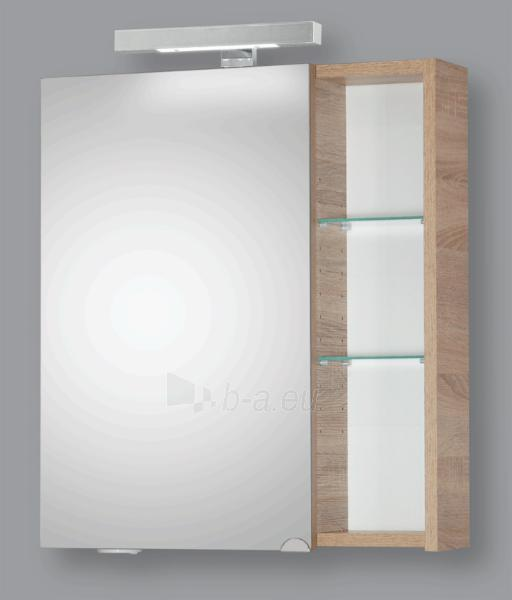 Spintelė su veidrodžiu Riva60 SV60-11 sonoma Paveikslėlis 1 iš 3 250401000078
