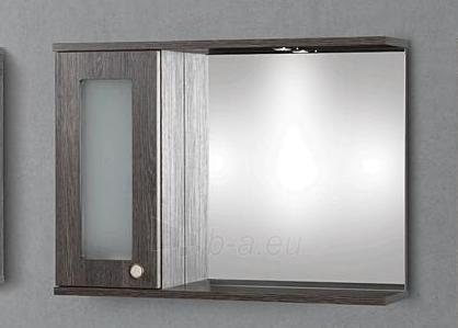 cabinet with mirror Riva80 SV80-5 congo Paveikslėlis 1 iš 2 250401000095