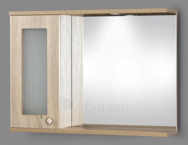 cabinet with mirror Riva80 SV80-5 sonoma Paveikslėlis 1 iš 2 250401000099