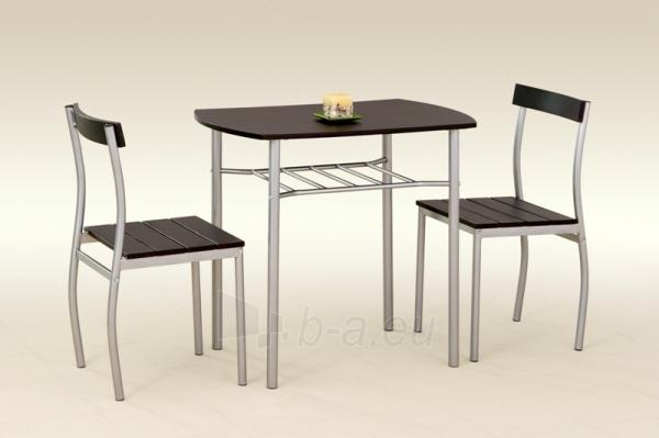 Stalas su kėdėm LANCE (wenge) Paveikslėlis 2 iš 2 250452000007