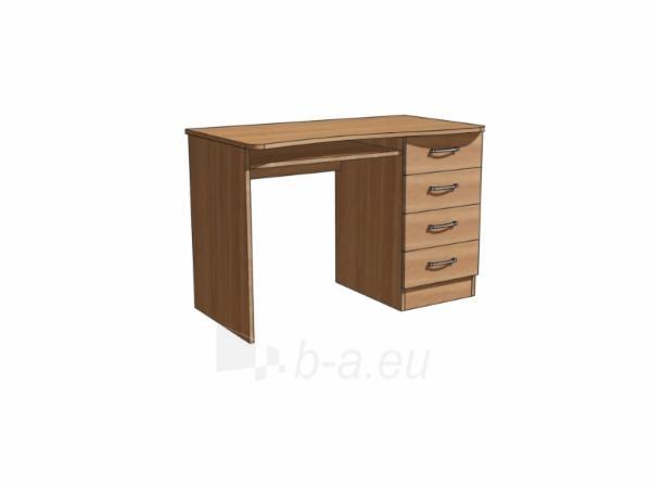 Stalas su klaviatūra ST-01, vyšnia Paveikslėlis 1 iš 1 250471000067