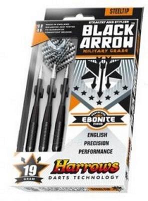 Strėlyčių rinkinys HARROWS Black Arrow ED106, 24 gr Paveikslėlis 1 iš 1 250530900032