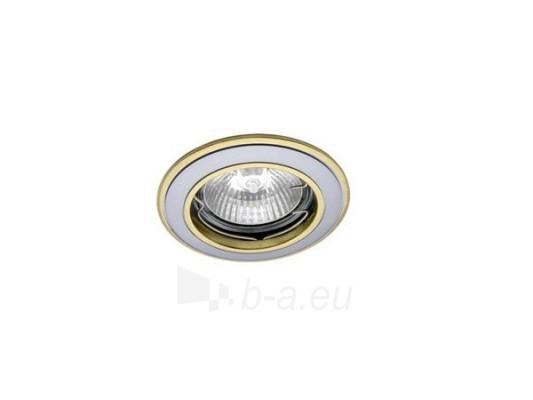 Šviestuvas NETL-DS02 SN/G satininis nikelis/auksas Paveikslėlis 1 iš 1 224150000316