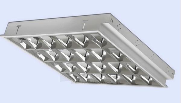 Šviestuvas lium. BEN 4x18 EVG/IP20 p/t Paveikslėlis 1 iš 1 224111000017