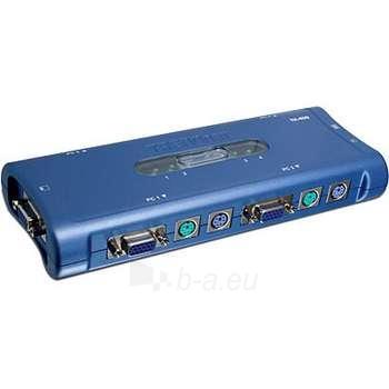 TRENDNET 4-PORT PS/2 KVM SWITCH KIT Paveikslėlis 1 iš 1 250255080577