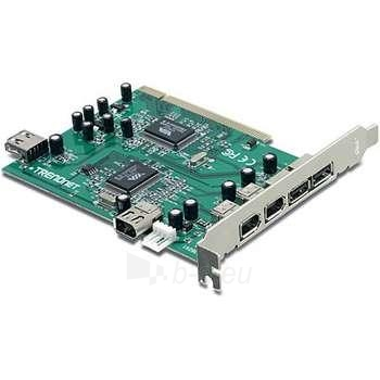 TRENDNET 6-PORT USB/FIREWIRE PCI ADAPTER Paveikslėlis 1 iš 1 250255080653