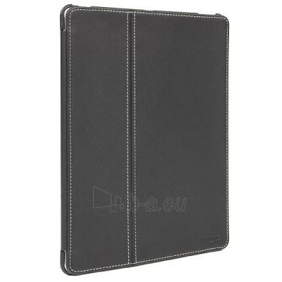 Targus Black Twill Premium Click-in case for iPad 3 Paveikslėlis 1 iš 4 250256200346