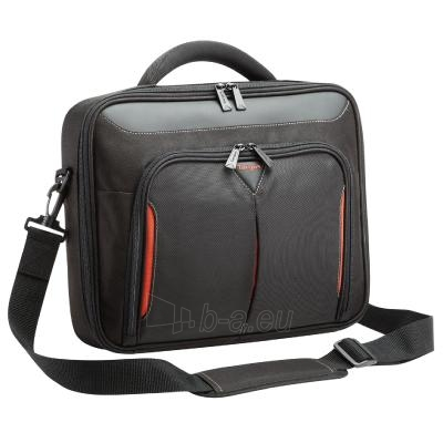 """Targus Classic+ Clamshell with file section Black/Red 17-18"""" Paveikslėlis 1 iš 4 250256200363"""