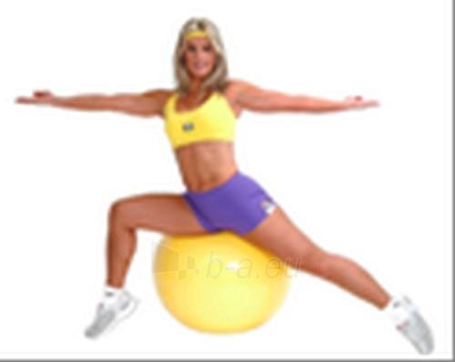 Terapinis kamuolys Gymnic 75cm, geltonas Paveikslėlis 1 iš 1 250620200015