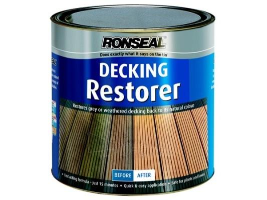 Terasų atnaujintojas Decking restorer 2,5 ltr colorless Paveikslėlis 1 iš 1 236860000203