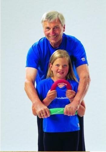Thera-Band Flexbar rankos treniruoklis, mėlynas Paveikslėlis 3 iš 8 250630500023