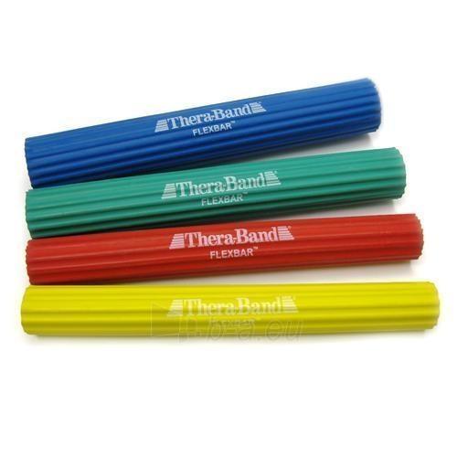 Thera-Band Flexbar rankos treniruoklis, mėlynas Paveikslėlis 1 iš 8 250630500023