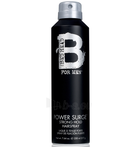 Tigi Bed Head Men Power Surge Hairspray Cosmetic 250ml Shaving Gel Paveikslėlis 1 iš 1 250881200025