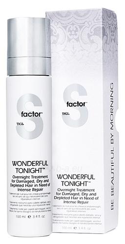 Tigi S Factor Wonderful Tonight Treatment Cosmetic 100ml Paveikslėlis 1 iš 1 250832400118