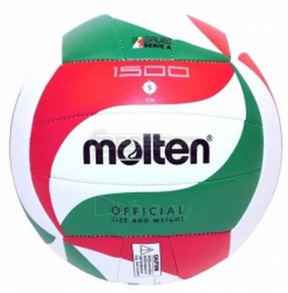 Tinklinio kamuolys MOLTEN V5M1500 Paveikslėlis 1 iš 1 250520102002