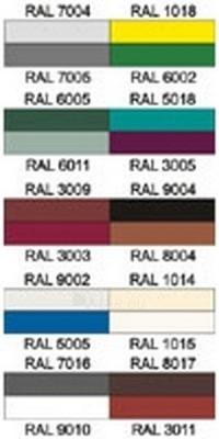 Trapezoidal profile steel roof AP-20 0,45 mm (polyester) Paveikslėlis 2 iš 2 237110300034