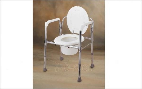Tualetinė kėdė be ratukų (DB-05-03) Paveikslėlis 1 iš 1 250630800047